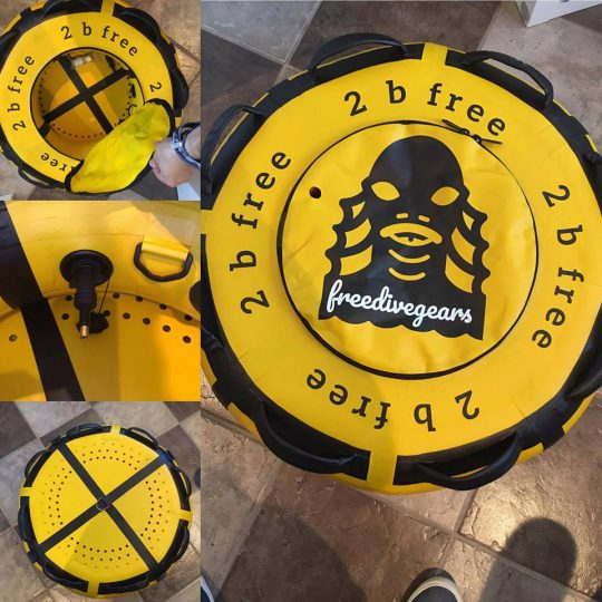 2 b free freediving buoy